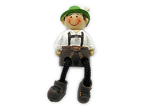 Oktoberfest Party Idea Boy/Lederhosen Magnet - GermanGiftOutlet.com  - 1
