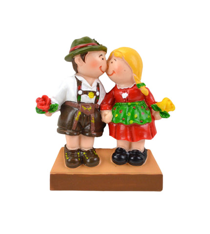 German Gift Idea Couple in Costume Fridge Magnet - GermanGiftOutlet.com