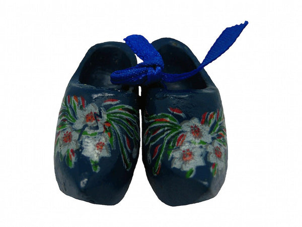 "Unique Magnet Dutch Clogs Blue (1.75"") - 1 - GermanGiftOutlet.com"