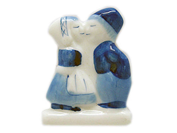 Delft Blue Magnet Dutch Kiss Kitchen Magnet - GermanGiftOutlet.com  - 1