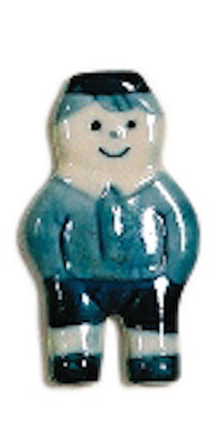 Delft Blue Boy Kitchen Magnet - GermanGiftOutlet.com