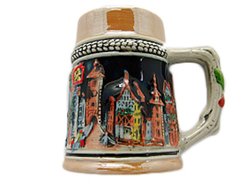 Oktoberfest Beer Stein Fridge Magnet German Village - GermanGiftOutlet.com  - 1