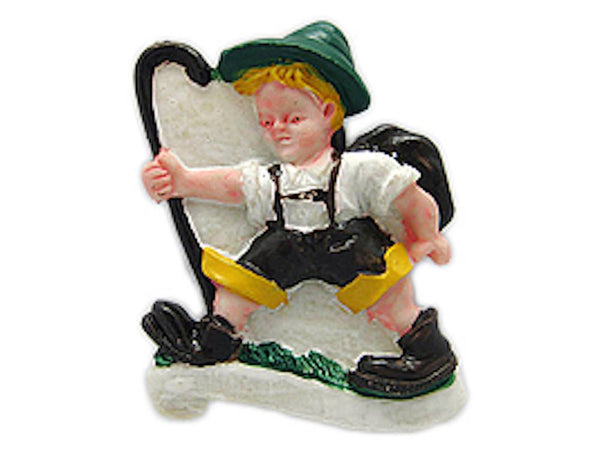 German Gift Idea Climber German Souvenir Magnet - GermanGiftOutlet.com  - 1