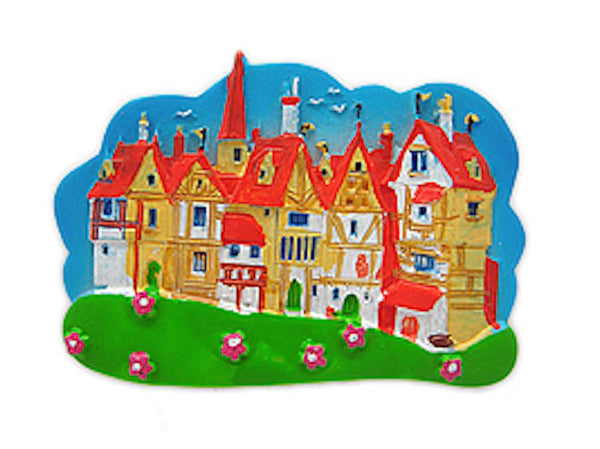 Kitchen Magnet Idea German Village Scene - GermanGiftOutlet.com  - 1