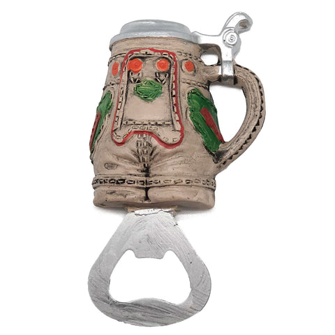 Oktoberfest Party Magnetic Bottle Opener Lederhosen Stein-MA07