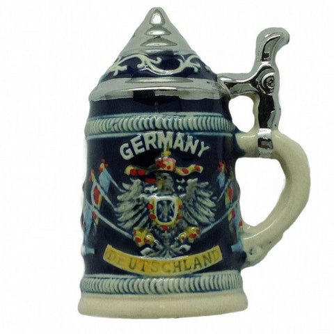 German Party Favor Stein Magnet German Eagle - GermanGiftOutlet.com  - 1