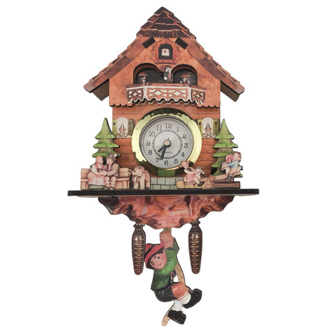 German Kitchen Cow & Dog Functioning Clock Fridge Magnet-MA27