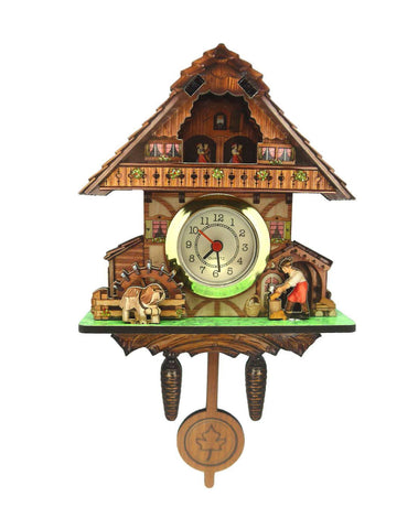 German Kitchen Man & Dog Functioning Clock Fridge Magnet - GermanGiftOutlet.com