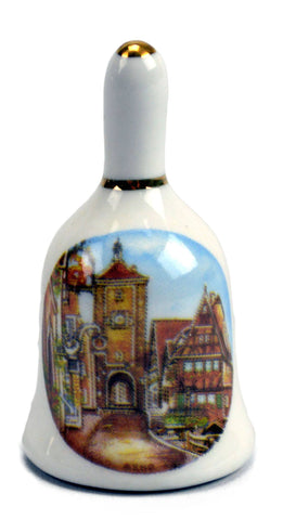 Fridge Magnet Bell: Euro Village - GermanGiftOutlet.com