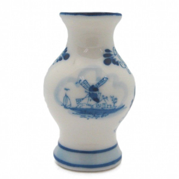 Ceramic Miniatures Delft Blue Vase - GermanGiftOutlet.com  - 1
