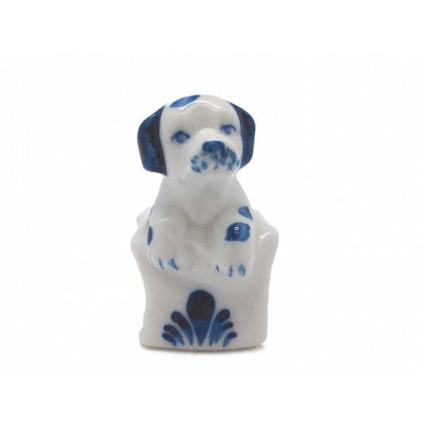 Animals Miniatures Dog In Sack Delft-MI01
