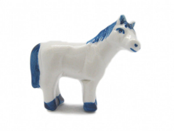 Porcelain Animals Miniatures Horse Color - GermanGiftOutlet.com  - 1