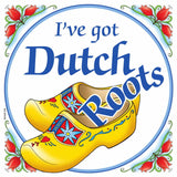 Dutch Souvenirs Magnet Tile (Dutch Roots)