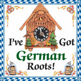 German Gift Idea Magnet (German Roots)
