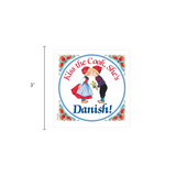 Danish Shop Magnet Tile (Kiss Danish Cook)