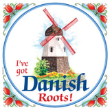 Danish Shop Magnet Tile (Danish Roots)