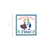 Finnish Souvenirs Magnetic Tile (Happiness Married To A Finn)