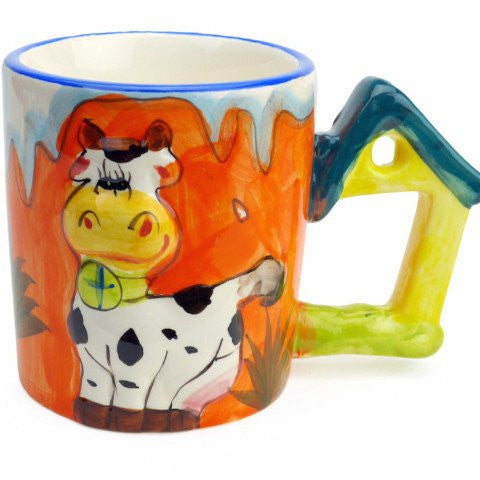 Mug with Sound of Animal: Cow - GermanGiftOutlet.com