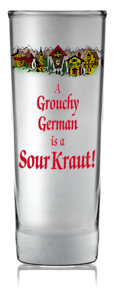 German Party Favor Shooter Grouchy German Clear - GermanGiftOutlet.com  - 2