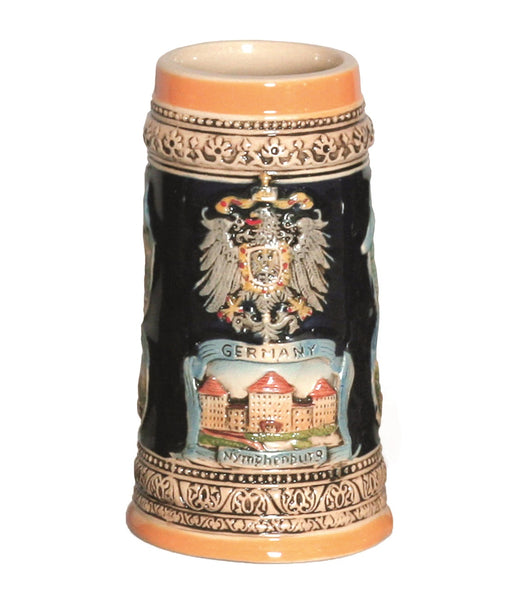 Engraved Beer Stein German Landmarks Ceramic-ST02