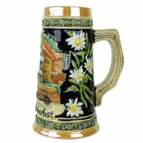 Munchen Oktoberfest Beer Stein without metal lid - GermanGiftOutlet.com  - 1