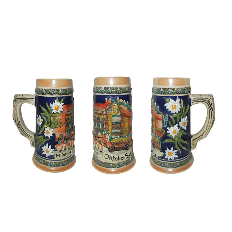 Munchen Oktoberfest Beer Stein without metal lid-ST02