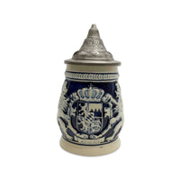 Bayern Coat of Arms Ceramic Beer Stein w/Lid