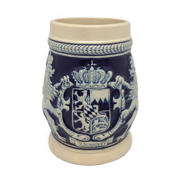 Bayern Coat of Arms Ceramic Beer Stein no/Lid - GermanGiftOutlet.com  - 2