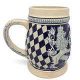 Bayern Coat of Arms Ceramic Beer Stein no/Lid - GermanGiftOutlet.com  - 3