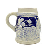 Cobalt Blue Landmarks of Berlin .75L Beer Stein -3