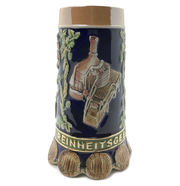 Reinheitsgebot German Beer Purity Law .85L Ceramic Bier Stein