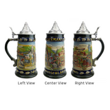 German Legends Beer Stein with Lid