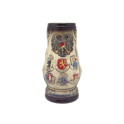 Engraved Beer Stein Edelweiss (no Lid)-ST02