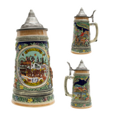 Oktoberfest Beer Stein with Lid