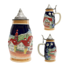 Germany Alpine Beer Stein with Lid