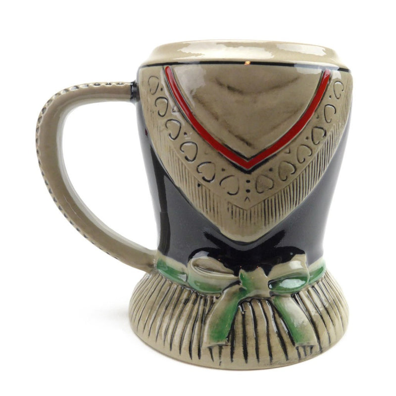 German Dirndl Ceramic Stein without Lid - GermanGiftOutlet.com  - 3