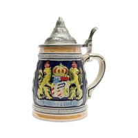 Engraved Beer Stein: Bayern Crown