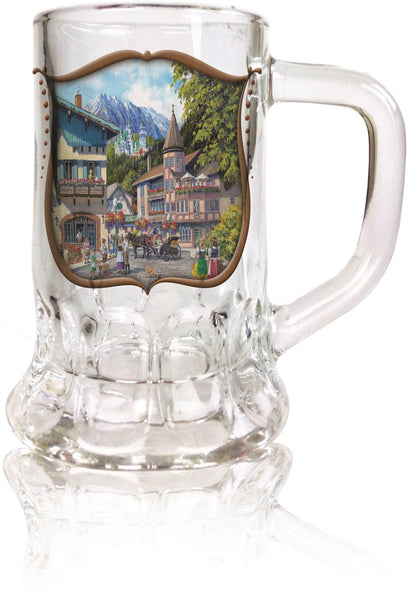 Dimpled Mug Glass Shot: German Summer - 1 - GermanGiftOutlet.com