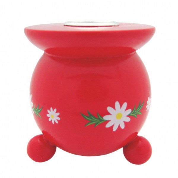 German Wedding Candle Holders With Edelweiss Flower Design - GermanGiftOutlet.com  - 1
