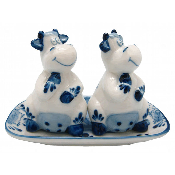 Unique Salt and Pepper Shakers Happy Cows - GermanGiftOutlet.com  - 1