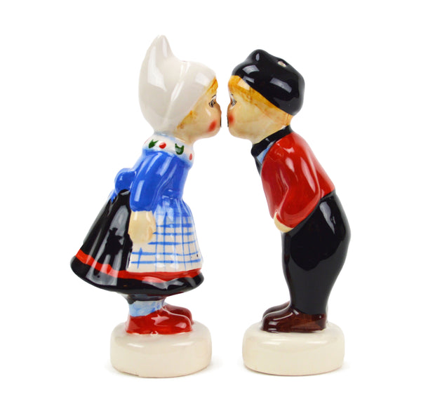 Cute Salt and Pepper Shakers Dutch Standing Couple-SP03