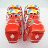 Red Dala Horse Salt and Pepper Shakers - GermanGiftOutlet.com  - 4