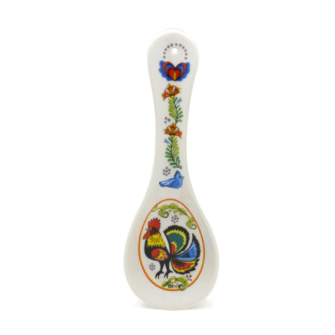Kitchen Decor Spoon Rest: Rooster
