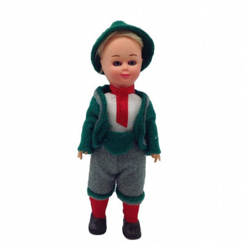 "German Costume Boy Doll 6"" - GermanGiftOutlet.com  - 1"