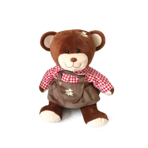 German Teddy Bear Girl (with red shirt)-TO02