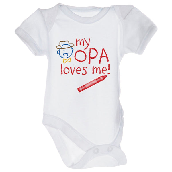 "Opa Kids Snap suits ""My Opa Loves Me""-TS05"