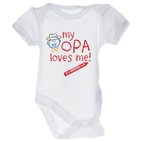 "Opa Kids Snap suits ""My Opa Loves Me"""