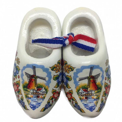 Dutch Wooden Shoes Deluxe Multi Color - 1.5 inches, 2.5 inches, Apparel-Costume Shoes, Apparel-Costumes, Below $10, CT-600, Dutch, Ethnic Dolls, Multi-Color, Netherlands, PS-Party Favors, PS-Party Favors Dutch, Shoes, Size, Top-DTCH-B, Tulips, Windmills, wood, Wooden Shoes, Wooden Shoes-Souvenir