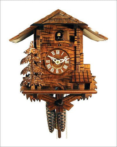 Black Forest 1 day - Chalet Style German Cuckoo Clock - GermanGiftOutlet.com