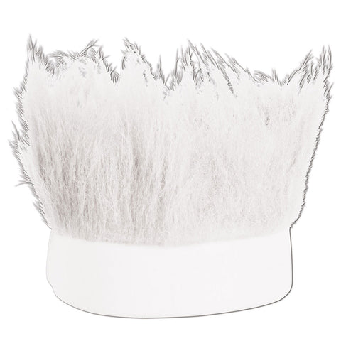 White Hairy Oktoberfest Headbands - GermanGiftOutlet.com
